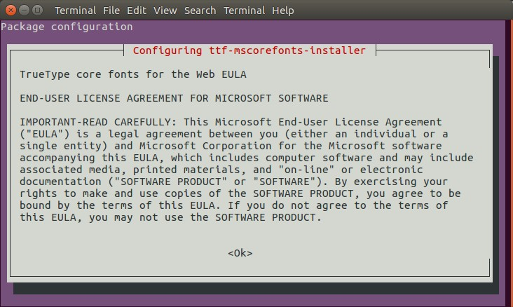 How to Install Mircosoft Windows fonts on Ubuntu